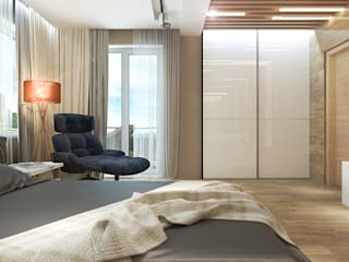 Your royal design Chambre minimaliste Gris
