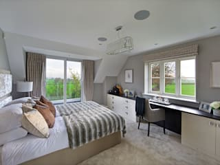 Griggs Shenley Modern style bedroom by The Wood Works Modern