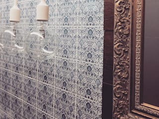 R&I Eclectic style bathrooms by MEL design_ Eclectic