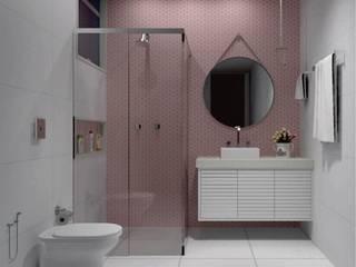 Banheiro de uma linda princesa - produção Elessandra Arquitetura! :   por Elessandra Arquitetura