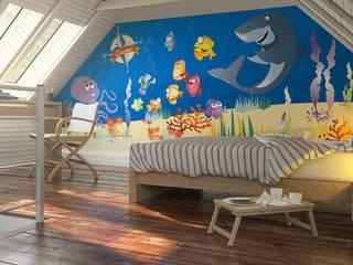 Bandadeisogni Nursery/kid's roomAccessories & decoration Komposit Kayu-Plastik Blue