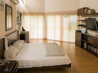 Tropical style bedroom by Arquitectura Positiva Tropical