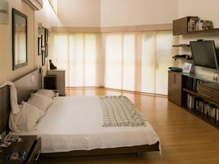Alcoba Principal Dormitorios tropicales de Arquitectura Positiva Tropical
