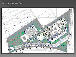 compatibilizações Casas modernas por Adrieli Santos Arquiteura Moderno