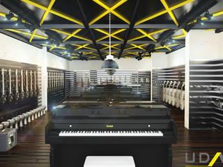 D. Muzik Park Modern Sergi Alanları UDARIO İç Mimarlık Modern Demir/Çelik