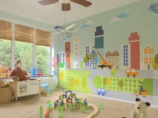 Bandadeisogni Nursery/kid's roomWardrobes & closets Komposit Kayu-Plastik Multicolored