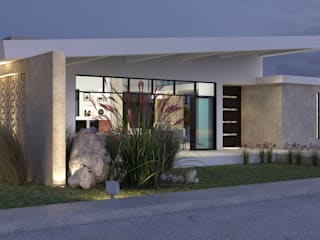 Arquitectura Positiva Eclectic style houses