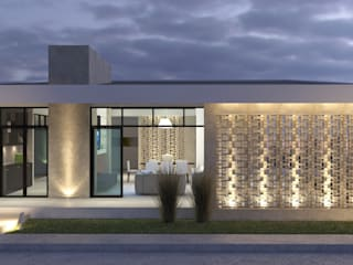 Eclectic style houses by Arquitectura Positiva Eclectic