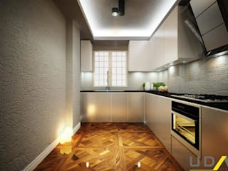UDARIO İç Mimarlık – K. İnsaat Örnek Daire Mutfak:  tarz