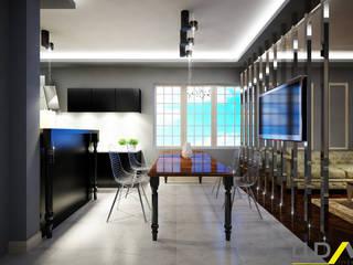 UDARIO İç Mimarlık – S.G Evi Kapıdan Görünüm: modern tarz , Modern