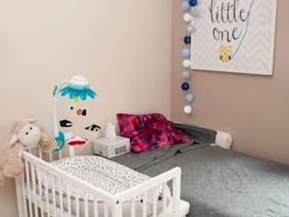 Białe łóżeczko dostawne MAMAIPAPA od Jedynak Babywelt Nowoczesny