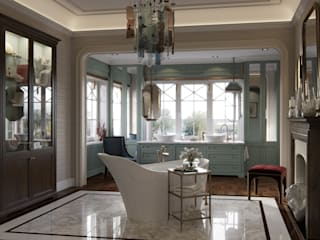 Classic style bathroom by COUTURE INTERIORS Classic