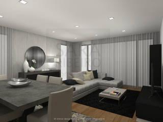 Modern Dining Room by Sara Ribeiro - Arquitetura & Design de Interiores Modern