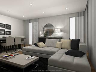 modern  by Sara Ribeiro - Arquitetura & Design de Interiores, Modern