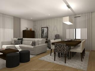 Eclectic style dining room by Sara Ribeiro - Arquitetura & Design de Interiores Eclectic