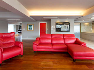 modern Living room by 株式会社井蛙コレクションズ