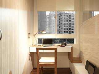 Estudios y despachos de estilo moderno de 大晴設計有限公司 Moderno