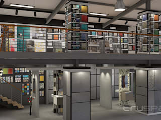 Espaces commerciaux de style  par Truspace,