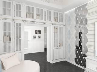 Дизайн проект (Береговая) Гостиная в классическом стиле от Студия дизайна mOOza Классический