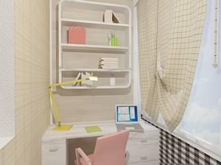Дизайн проект (ЖК Достоевкого) Детские комната в эклектичном стиле от Студия дизайна mOOza Эклектичный