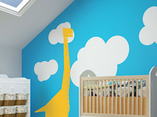 Wall Stickers for Kids Rooms: modern  by Inkmill Vinyl, Modern