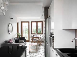 Livings de estilo escandinavo de CAFElab studio Escandinavo