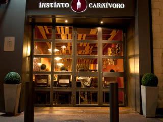 RESTAURANTE A04 Gastronomía de estilo industrial de Fran Clausell · Interiorismo Sostenible Industrial