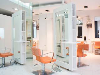 PELUQUERÍA C53 Oficinas y tiendas de estilo minimalista de Fran Clausell · Interiorismo Sostenible Minimalista