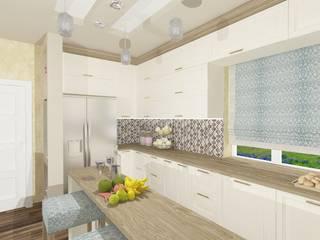Дизайн проект (Знаменский) Кухни в эклектичном стиле от Студия дизайна mOOza Эклектичный