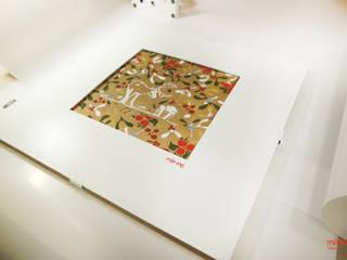 Obraz dekoracyjny Życzenia Reniferów Scandynavian Color od Malning Interior Tomasz Pabin Skandynawski