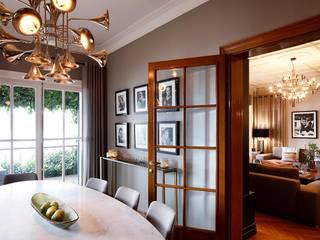 AA HOUSE EMIRGAN Mediterranean style dining room by Esra Kazmirci Mimarlik Mediterranean