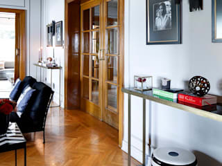 AA HOUSE EMIRGAN Mediterranean style living room by Esra Kazmirci Mimarlik Mediterranean