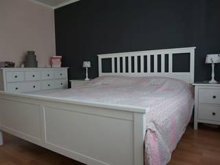 Schlafzimmer Malerarbeiten in Lippstadt:  Schlafzimmer von Raumdesign Tommaso - Malerei