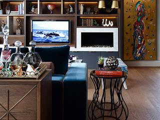NEST SG HOUSE Modern living room by Esra Kazmirci Mimarlik Modern