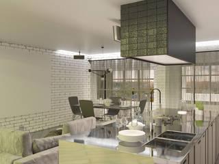 Дизайн проект (Квартира): Кухни в . Автор – Студия дизайна mOOza