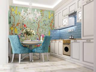 地中海デザインの キッチン の Vera Rybchenko 地中海