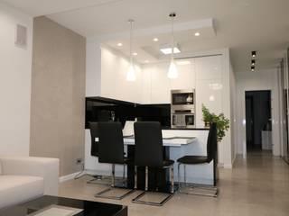 Sala da pranzo in stile  di Art&Design Studio Projektowe Kinga Śliwa