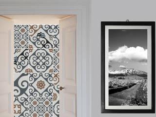 Interior casale Ragalna (CT): Ingresso & Corridoio in stile  di studio musumeci architetti