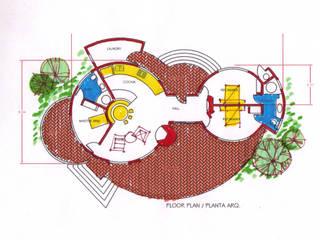 Casa Tortuga:  de estilo  por Arquitectos Romero