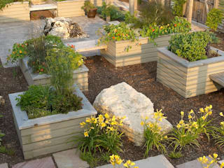 Benchscape:  Garden by Lex Parker Design Consultants Ltd.,