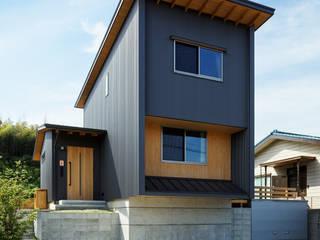 Casas modernas de 磯村建築設計事務所 Moderno