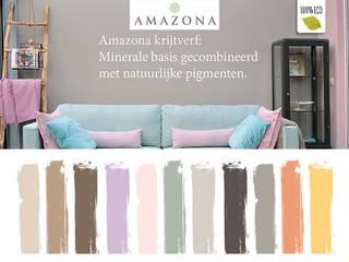 Amazona krijtverf van Groothandel in decoratie en lifestyle artikelen Klassiek