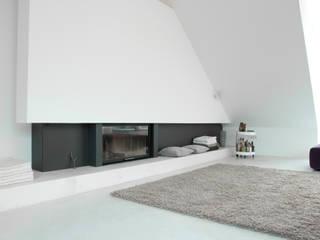 Penthouse S destilat Design Studio GmbH Moderne Wohnzimmer