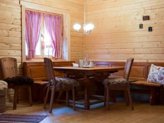 THULE Blockhaus GmbH - Ihr Fertigbausatz für ein Holzhaus Ruang Makan Gaya Skandinavia Kayu