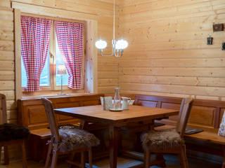 Dining room by THULE Blockhaus GmbH - Ihr Fertigbausatz für ein Holzhaus
