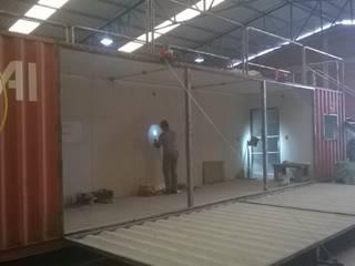 Execução da obra. :   por Container Ivoti