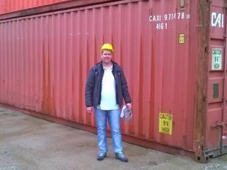 Compra dos containers:   por Container Ivoti