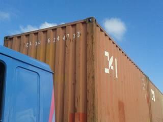 Transporte dos containers:   por Container Ivoti