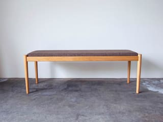 dining bench CS-13DB: Cassetteが手掛けたです。