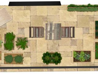 Orto in balcone: Terrazza in stile  di PROGETTO Bi